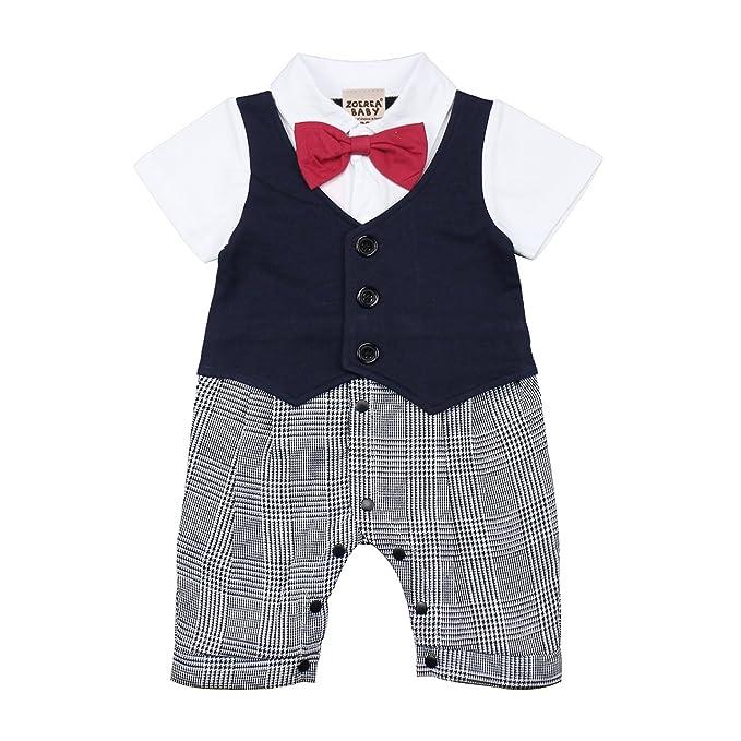 ZOEREA trajes para niños ropa bebe niño infantil body Ceremonia Pagliaccetto Pelele: Amazon.es: Ropa y accesorios