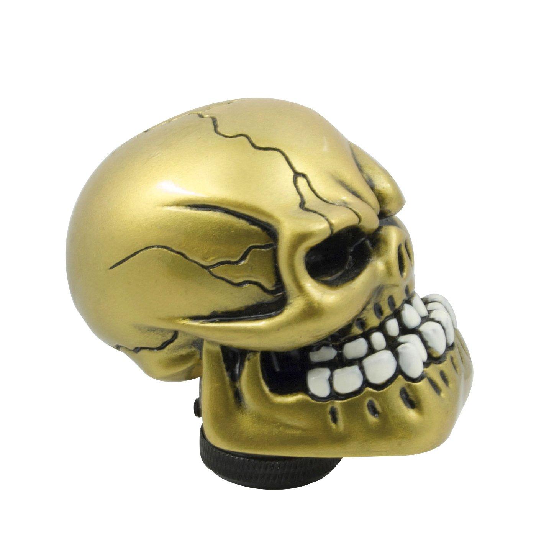 Mavota Silver Skull Manual Automatic Gear Shift Knobs