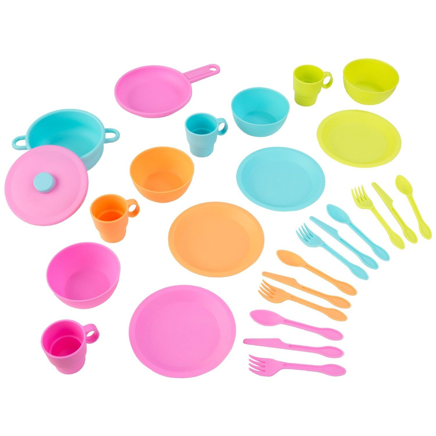 KidKraft 27pc Cookware Set - Brights by KidKraft