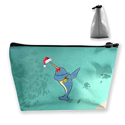 Camp Ursula Christmas Dab Narwhal Gifts Small Travel Makeup Pouch Toiletries Storage Organizer Bags: Amazon.in: Home & Kitchen