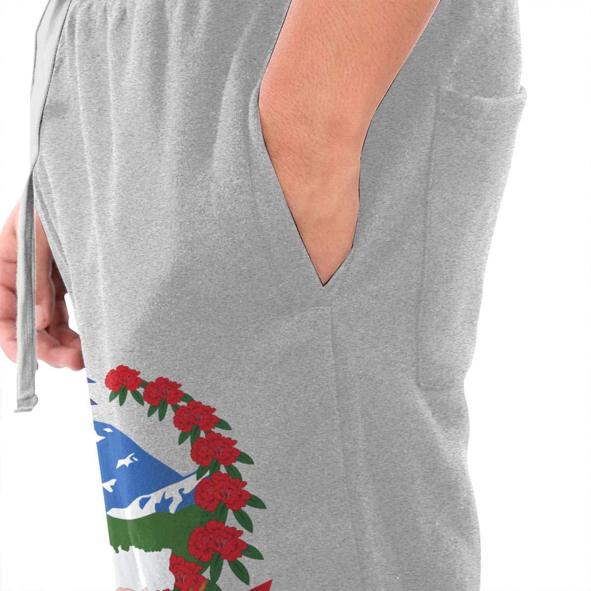 HHCW4LD Emblem of Nepal Mens Joggers Casual Lounge Pajama Gym Workout Yoga Pants Casual Long Pants