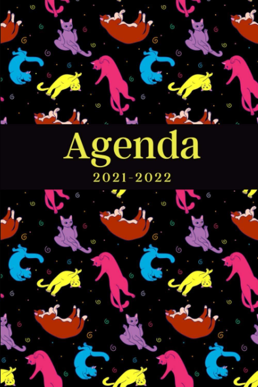 Agenda 2021 2022: Cadeau de Noël, Nouvel An pour les Amoureux du