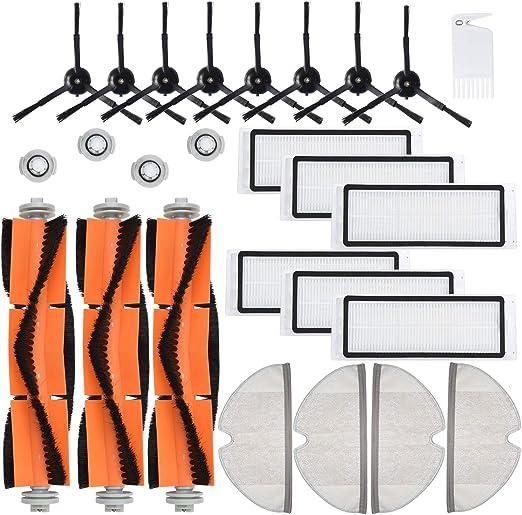 Spare Parts Set for Xiaomi Roborock Robot S50 S5 S6 Vacuum Cleaner Brush Filter