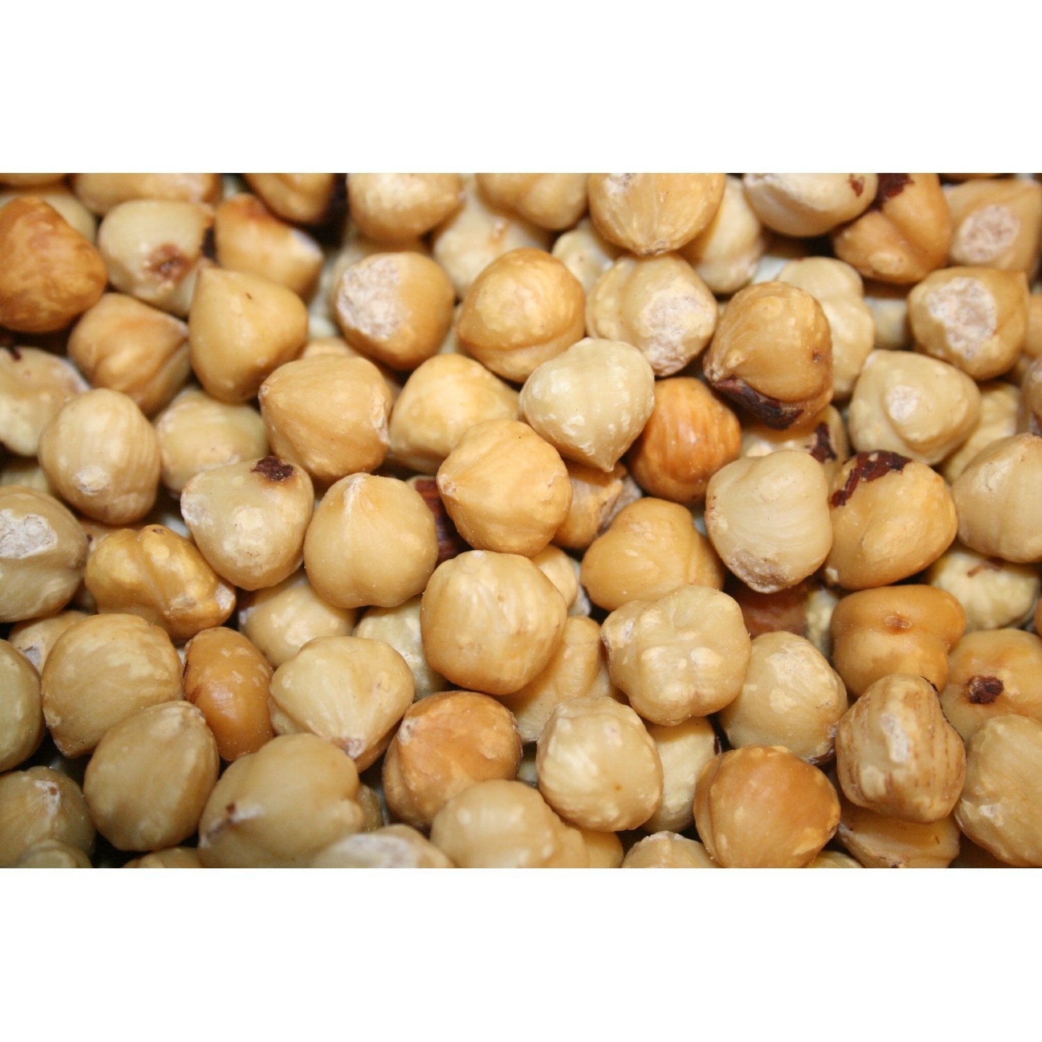 Hazelnuts Blanched Roasted Unsalted, 10Lbs by Bayside Candy