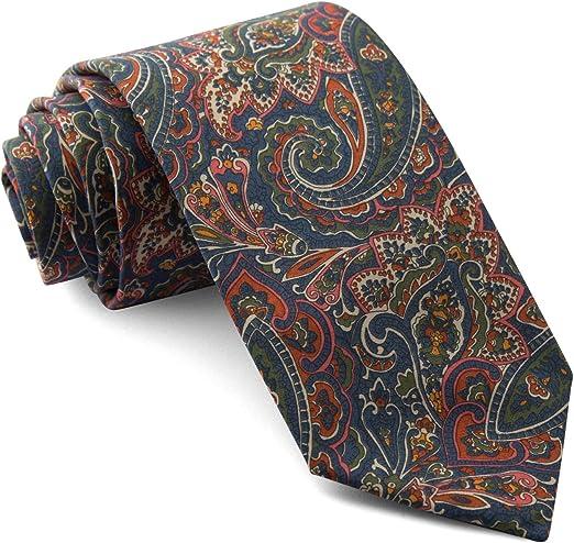 Cencibel Smart Casual Corbata Liberty Tessa Cachemir Verde y Azul ...