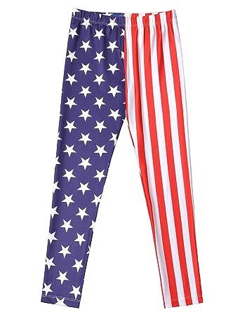 e4cf9d733 Jxstar Girl Unicorn Leggings Kid Rainbow Print Legging Tights Trousers Slim  Long Pants - Red -