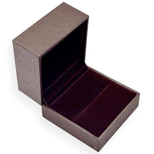EYS JEWELRY® estuche de joyería para anillo 60 x 60 x 45 mm ...