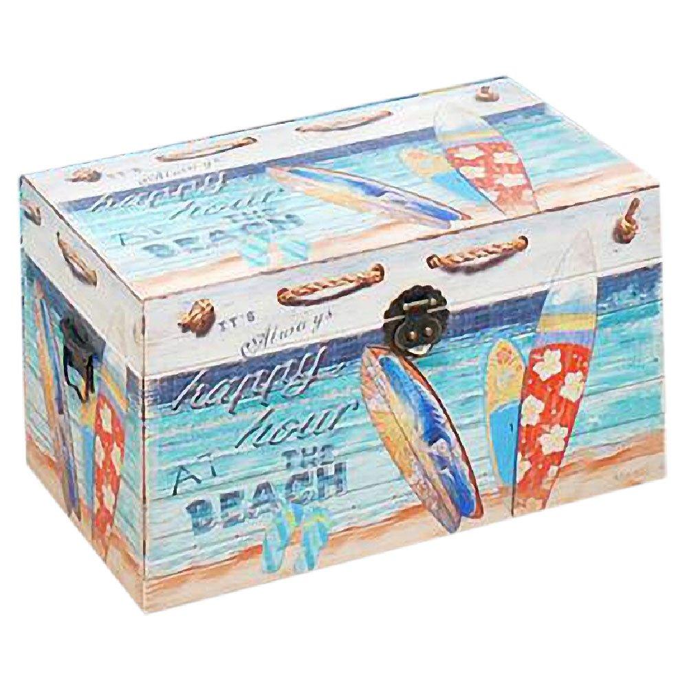 Retro Strand und Surf Box 55 cm
