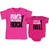 Nursery Decals and More Sibling Shirts Set for Sisters and Brothers, Includes Big Brothers Rock