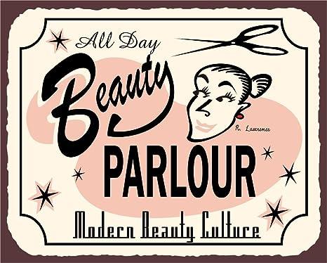 Amazon.com: Belleza todo el día clásico metal Art Barber ...