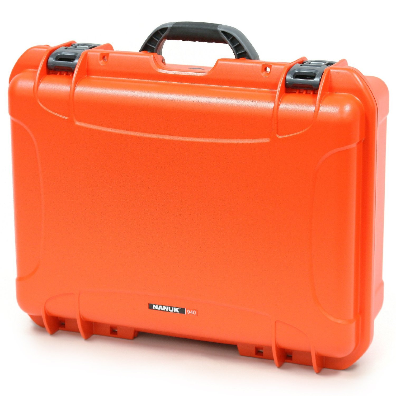 Nanuk 940 Case with Padded Divider (Orange) [並行輸入品]   B019SZ8YIM