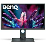 "BenQ PD3200U  - Monitor para diseñadores (32"" 4K UH, 3840x2160, IPS,100 % Rec.709, sRGB, CAD/CAM, animación, KVM, teclas funcionales, visualización doble, Low Blue Light, Flicker-free), color negro"