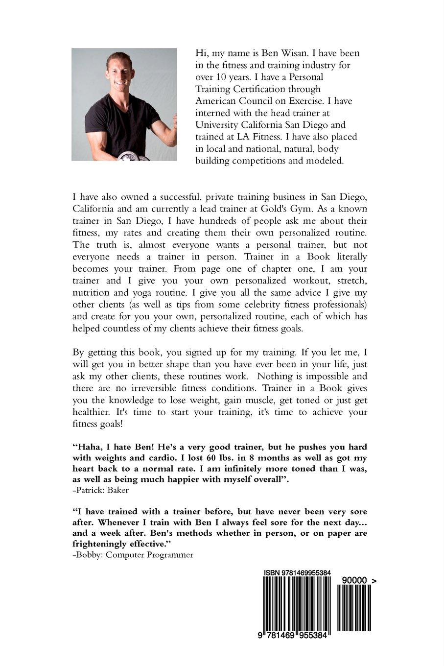 Trainer in a book an interactive and hands on fitness trainer in trainer in a book an interactive and hands on fitness trainer in a book vol 1 ben wisan 9781469955384 amazon books 1betcityfo Choice Image
