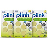 Plink household-dishwasher-cleaner, 3 Pack, Fresh Lemon, 12 Count