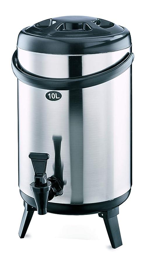 3 Klappfüße Thermo-Getränkebehälter 10 ltr