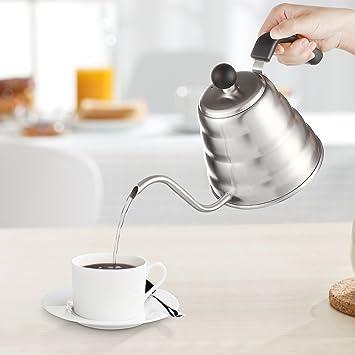 Decen Tee- Kaffee Kessel, Edelstahl Kaffeebereiter Kaffeekanne ...