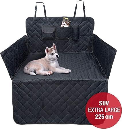 Jamaxx Auto Kofferraum Xxl Schondecke Für Suv Kombi Extra Lang 225cm Seitenschutz Hunde Decke Wasserdicht Haustier