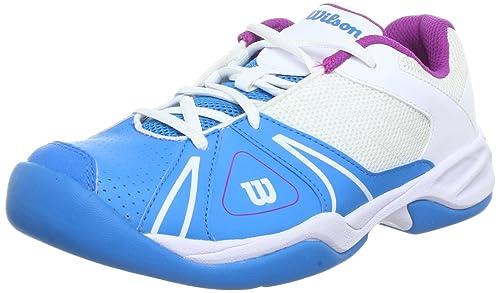 Wilson Open Junior, Zapatillas De Tenis de Sintético Unisex Niños: Amazon.es: Zapatos y complementos