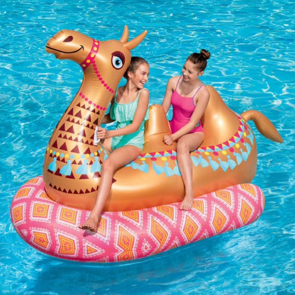 Amazon.com: Play Day Mega - Flotador hinchable para piscina ...