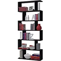 Habitdesign - Estanteria Athena alta, libreria abierta salon