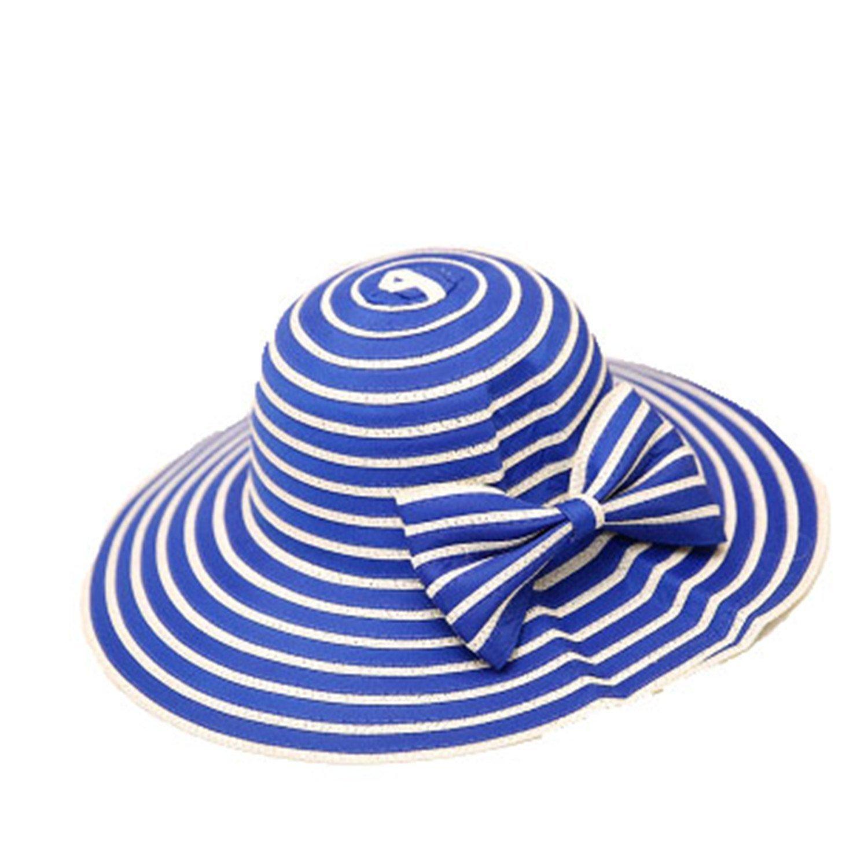 3d724eb6dc7 Amazon.com  Summer Sun Hats for Women Design Fashion Women Beach Cotton Hat  Foldable Wide Brim Bucket Hat for Fishing