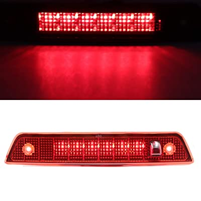 High Mount LED 3rd Stop Brake Lights Third Light Brake CHMSL Center Light for 2005-2010 Jeep Grand Cherokee (Red): Automotive