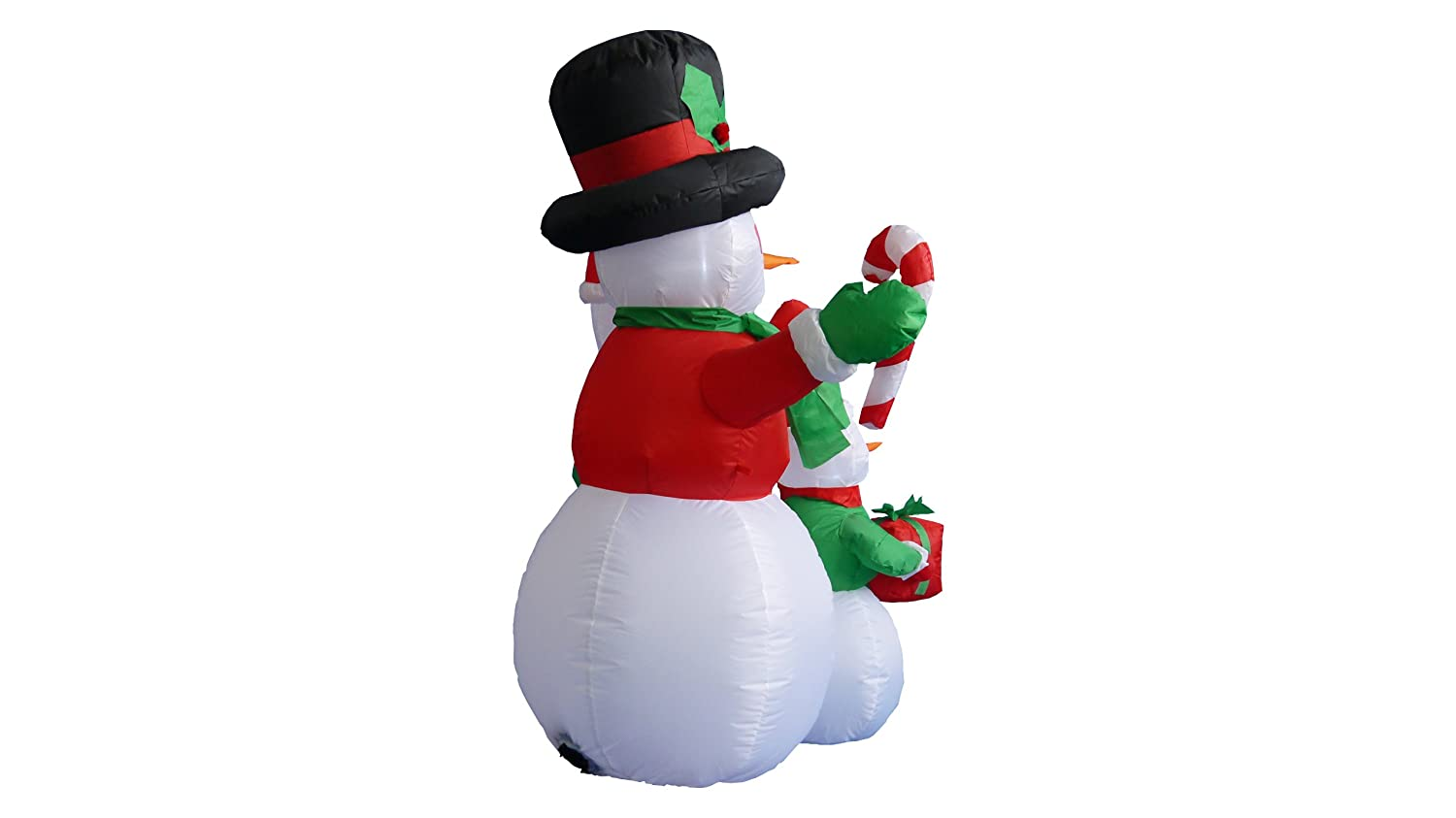 Amazon.com: 4 Foot Christmas Inflatable Snowmen Family Party ...