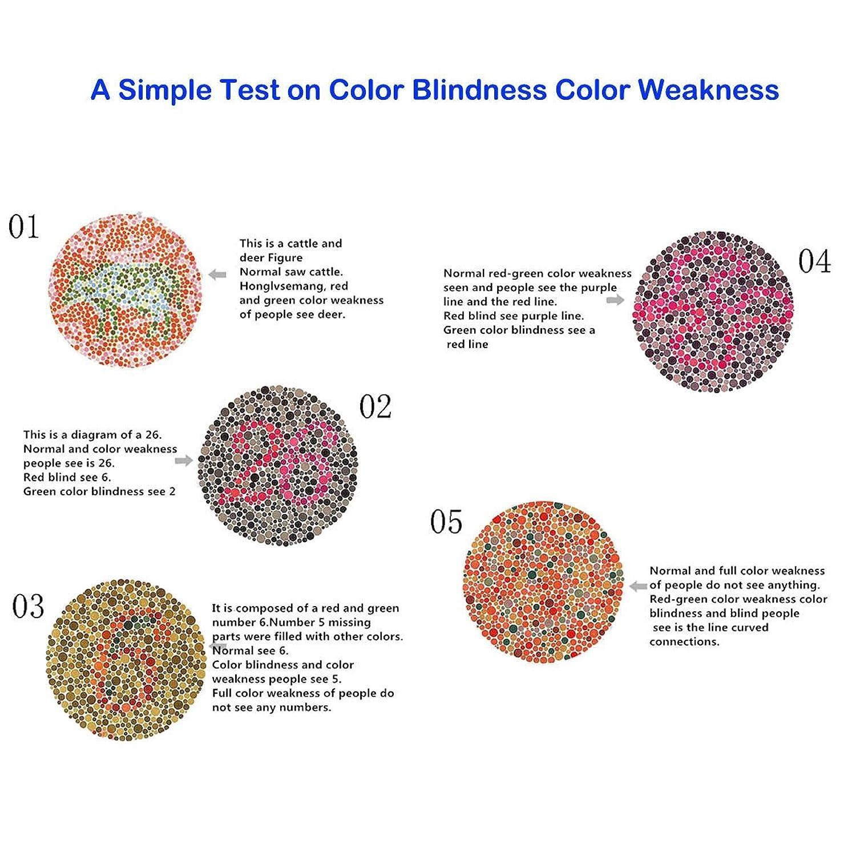 Amazon WESTLINK Color Blind Glasses Clothing