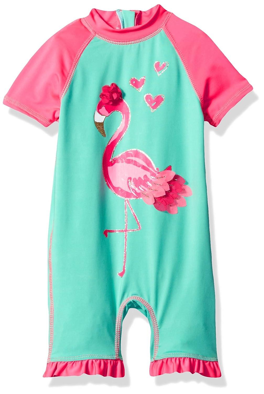 Wippette Baby Girls' Flamingo 1 Pc Swim WG589034