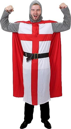 I LOVE FANCY DRESS LTD Adulto Disfraz de Caballero San Jorge ...