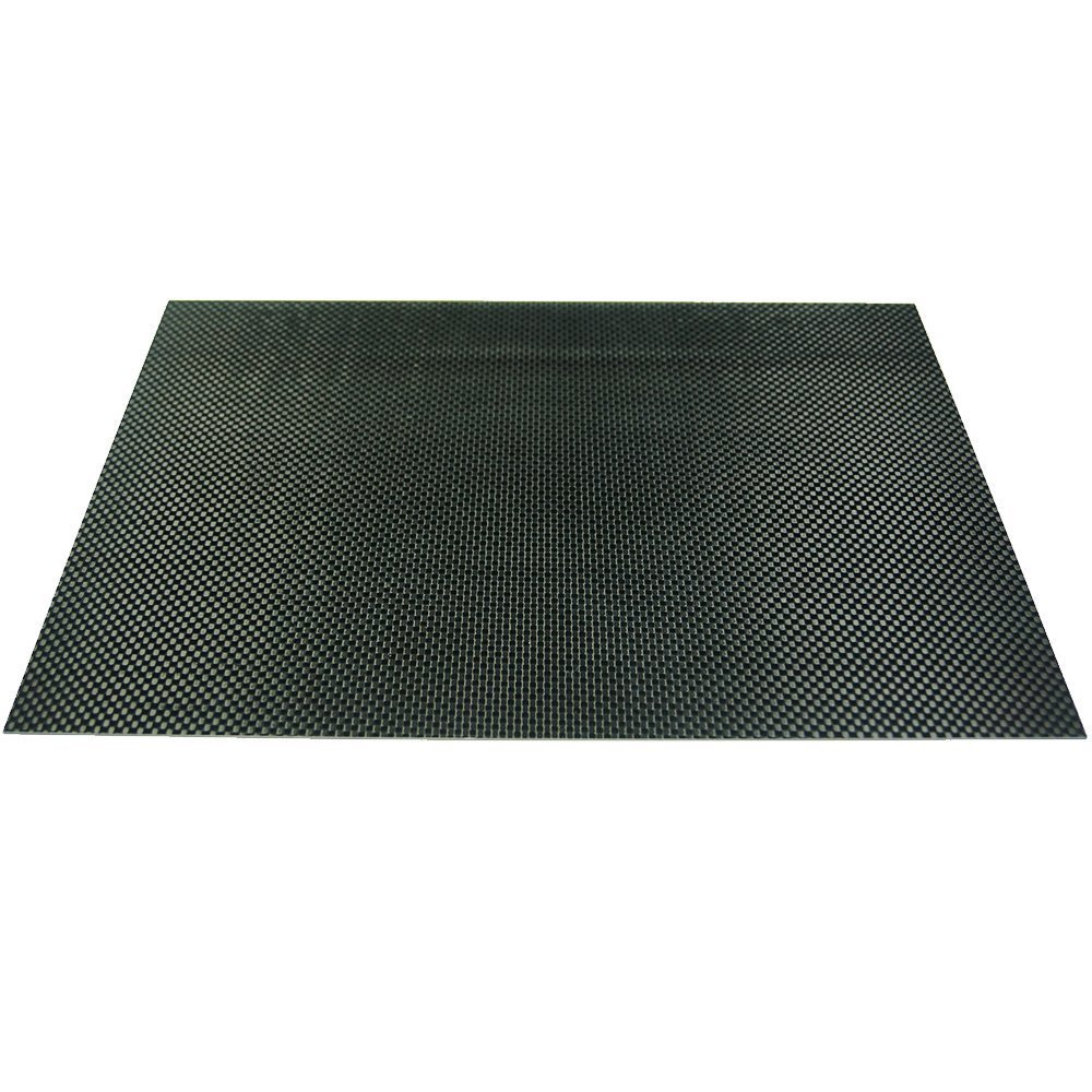 ARRIS® 1.5mm 400X500X1.5MM 100% 3K Carbon Fiber Plate Plain Weave Panel Sheet (Glossy Surface)