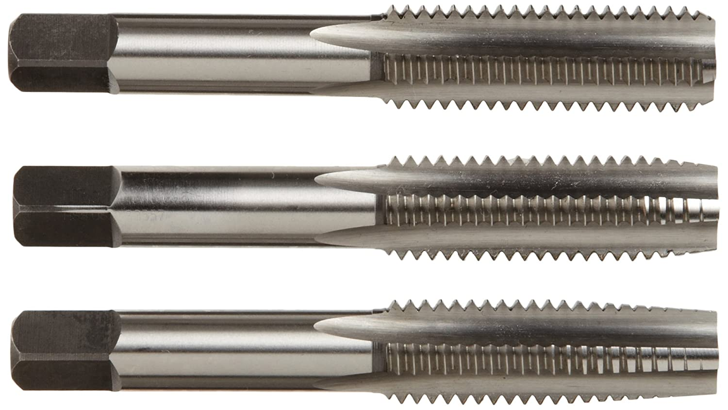 Round with Square End Pack of 1 Spiral Flute 2//0 Size Finish Bright Uncoated Drill America DWRRTPS Series Qualtech High-Speed Steel Taper Pin Reamer