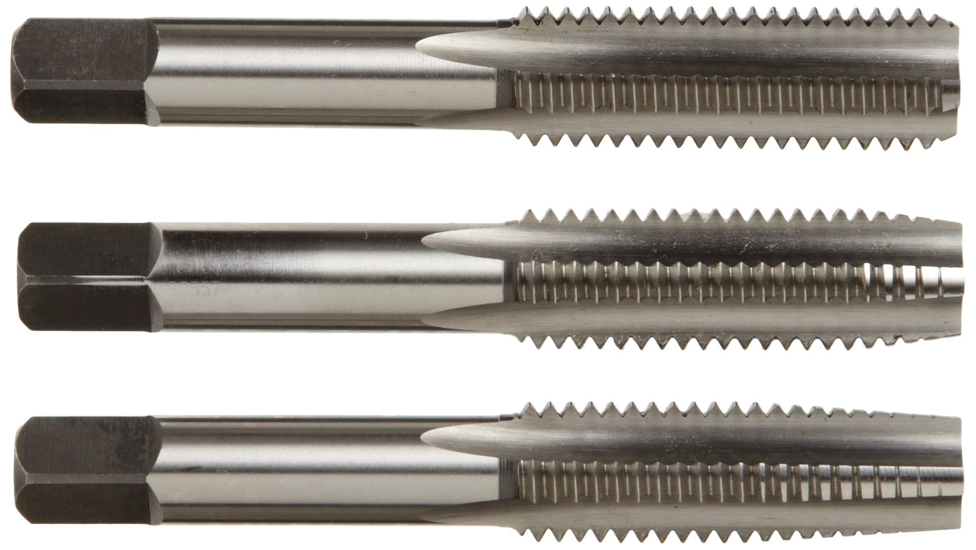 Alfa Tools HSMTS171023 7mm by 1.0mm High-Speed Steel Tap Set (Taper/Plug/Bottom) Made In USA, by Alfa Tools