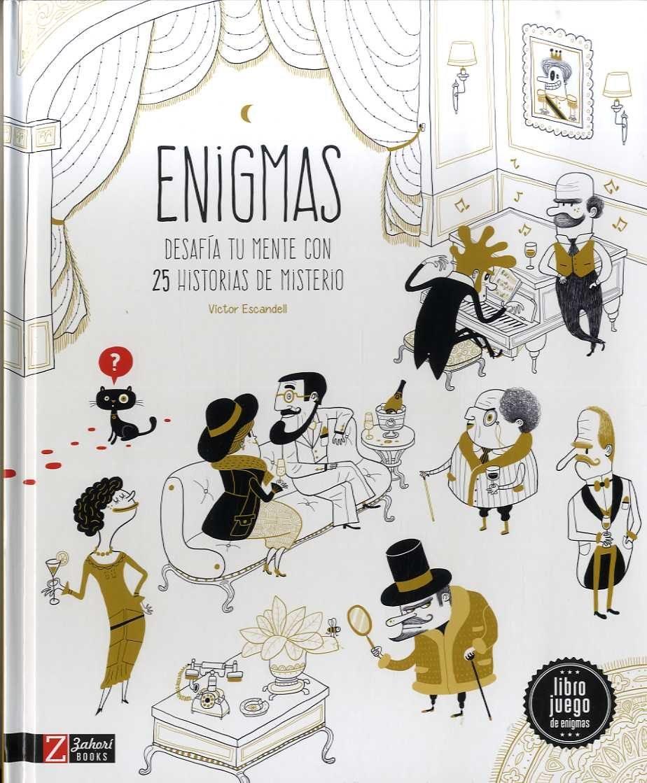 Enigmas: Desafia tu mente con 25 historias de misterio: Amazon.es: Ana  Gallo, Víctor Escandell: Libros