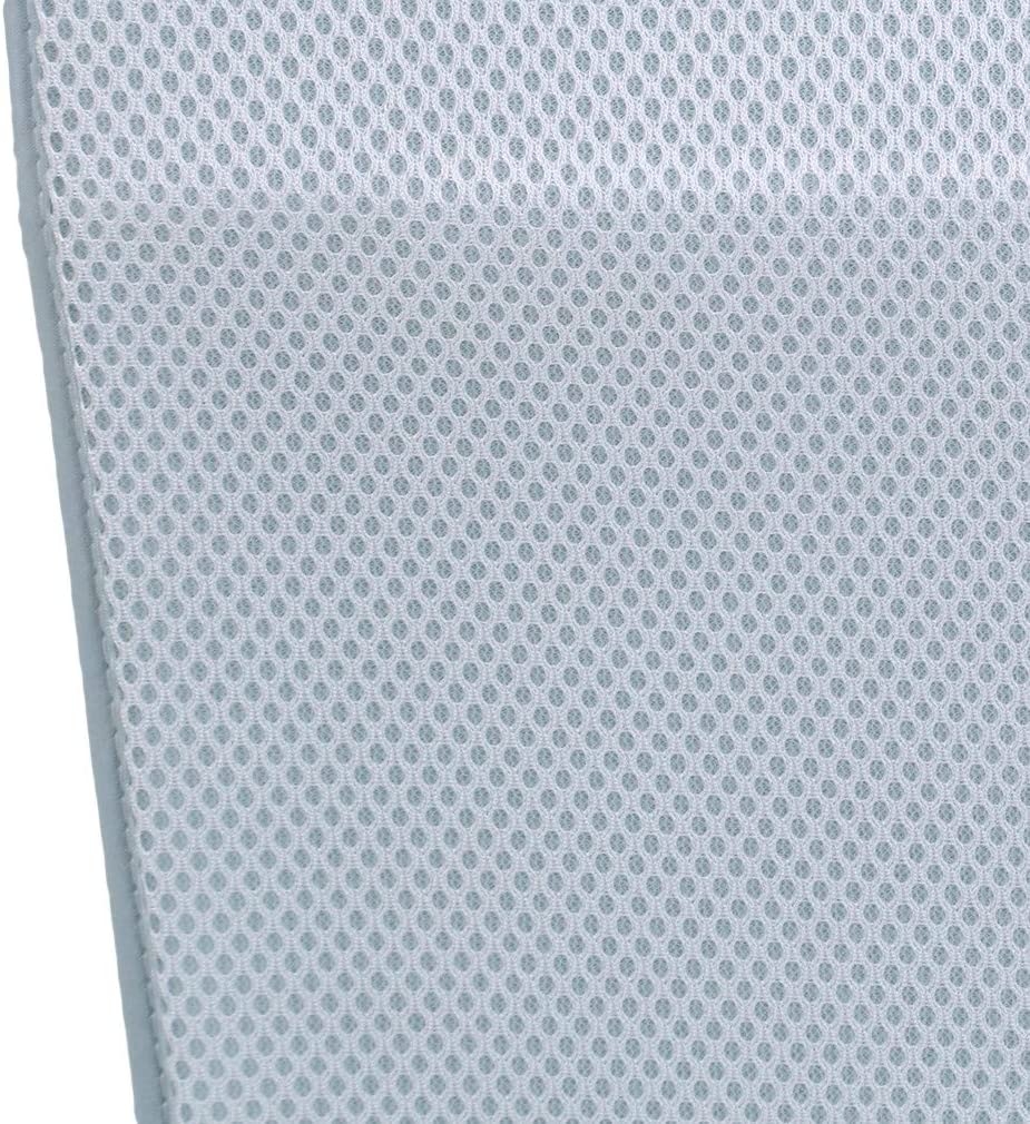 Purchasing Takes Blue METREE 13.7729.52 Inch Child Crib Pad Mat Mini Size for Summer Sleeping Mattress Protector Crib Mat,Gray-Green