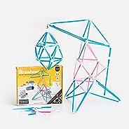 Strawbees Maker Kit STEM Building Set, 200 Pieces