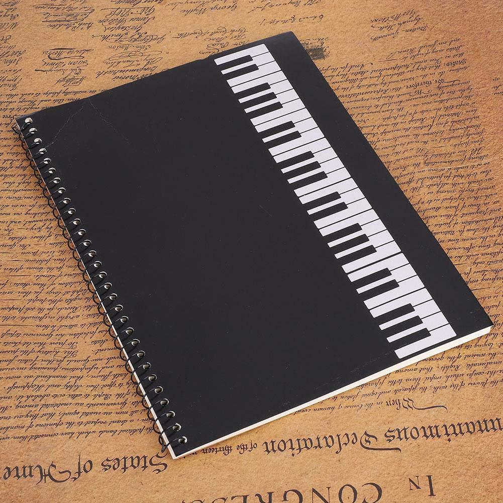 Bnineteenteam Taccuino di Musica Musica Quaderno quaderno a 50 Pagine per Musicisti Quattro Tipi opzionali a Scelta