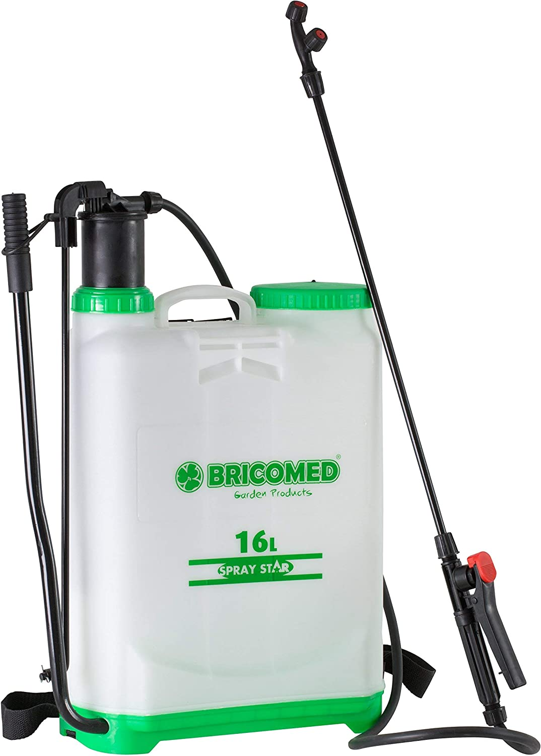 Bricomed - Pulverizador Mochila 16L. Spray Star