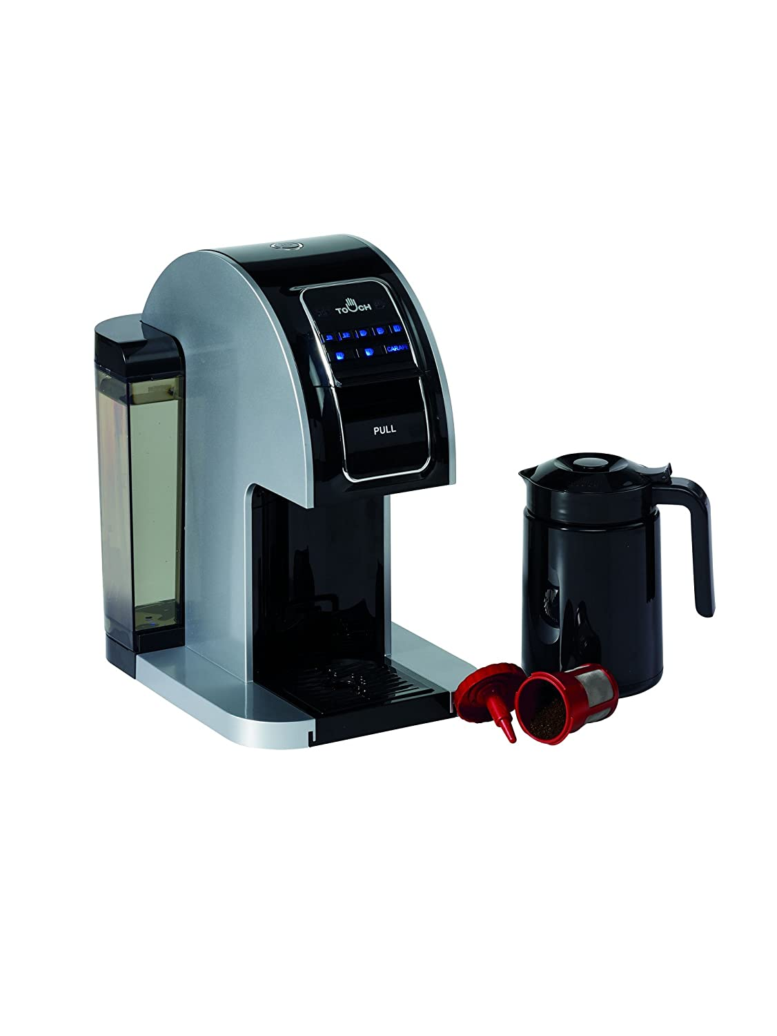 Keurig coffee makers at bed bath and beyond - Amazon Com Touch Plus T526s Single Serve Brewing System Kitchen Dining