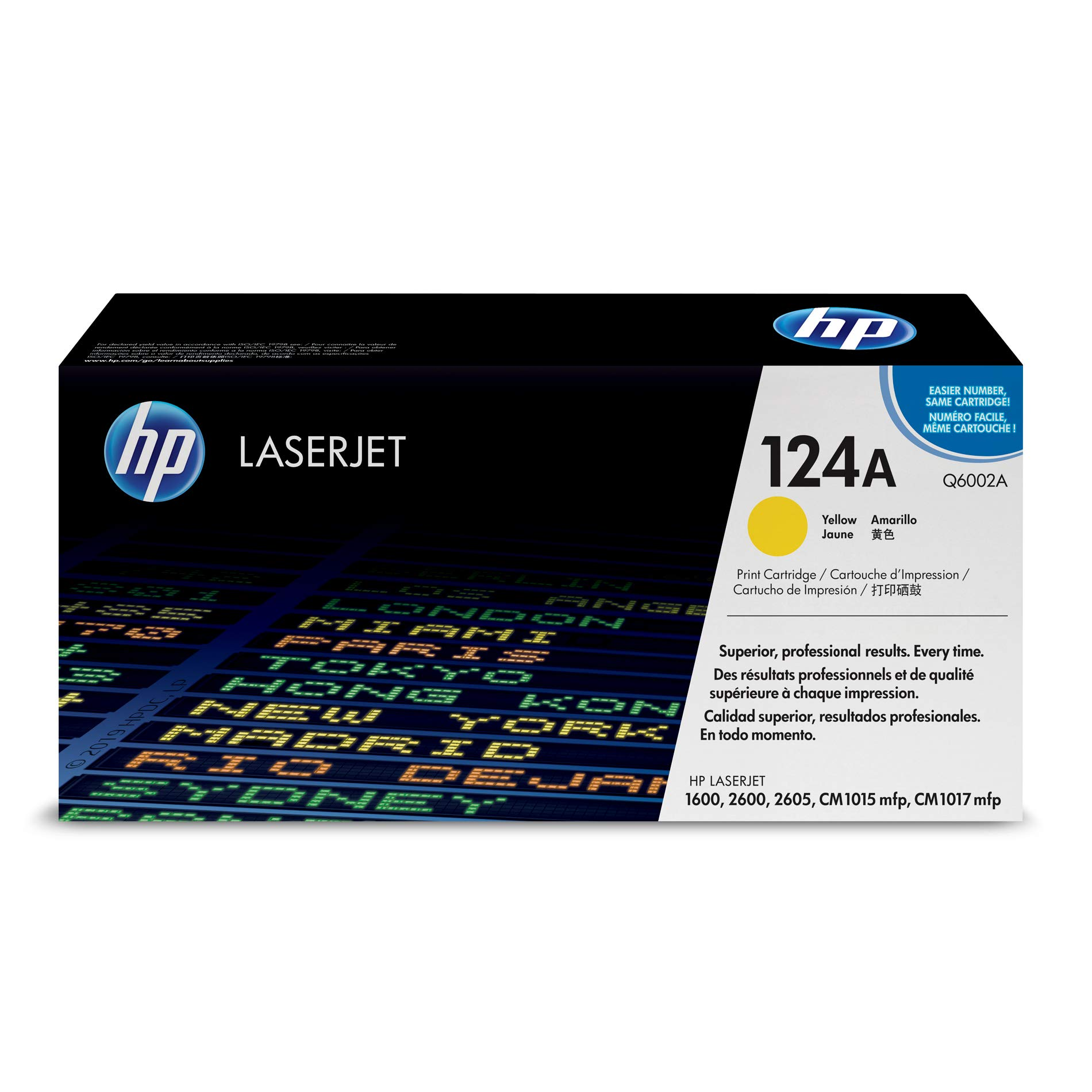 Toner Original HP Color LaserJet Q6002A Yellow (Q6002A)