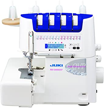 JUKI mo-2000qvp overlock con enfilage y Agujas automático Metal ...