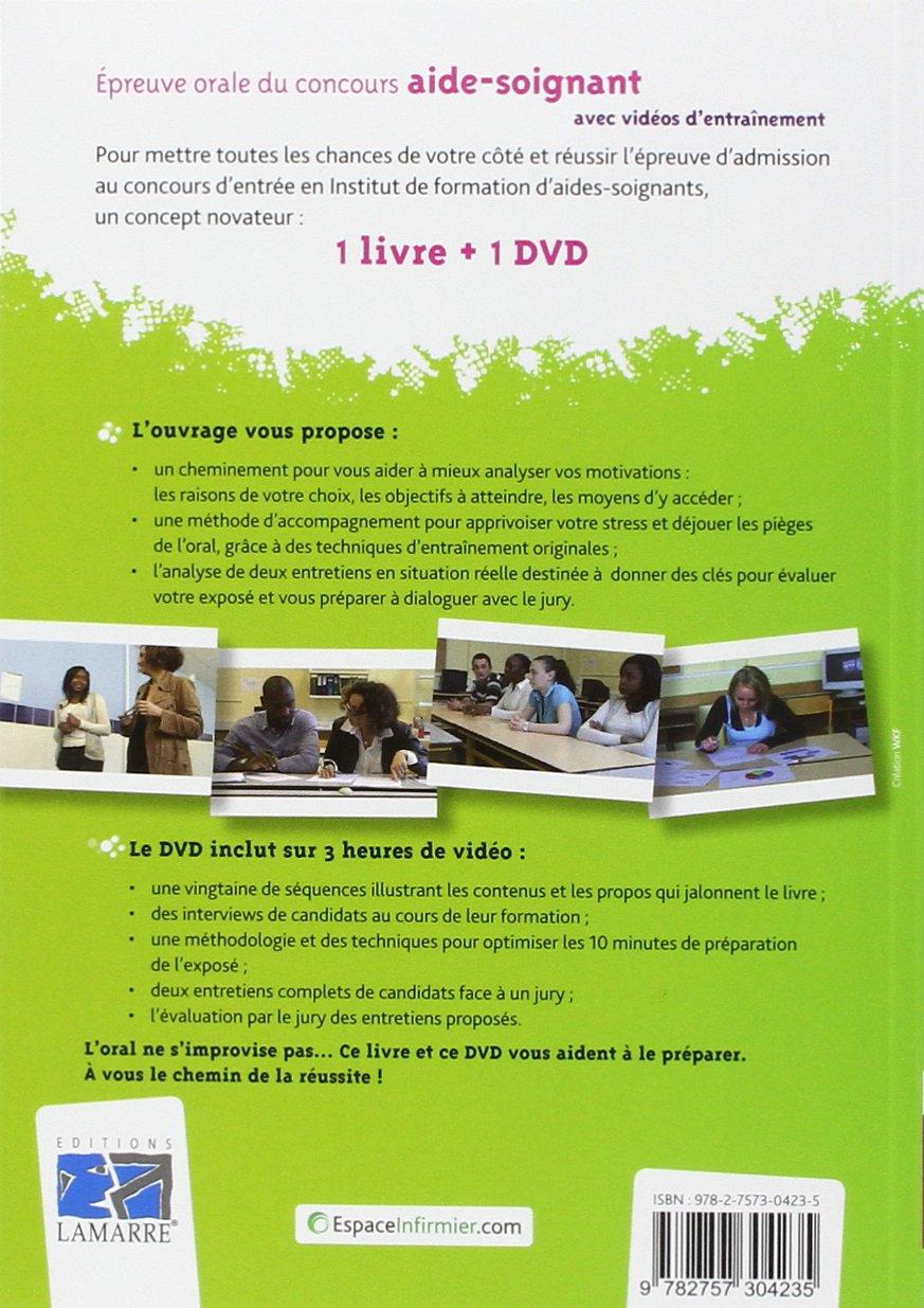 Amazon fr - Epreuve orale du concours Aide-soignant : Avec