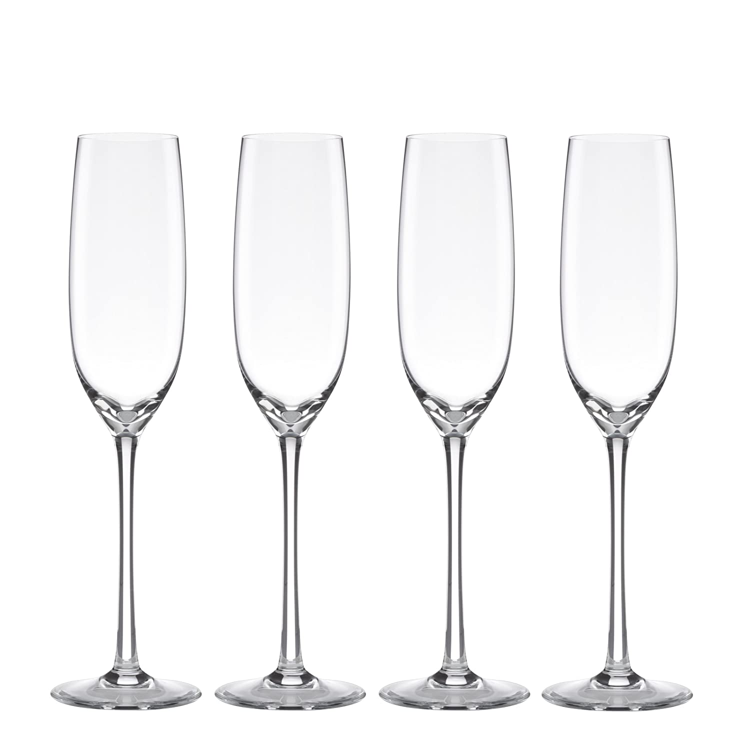 Lenox Unisex Tuscany Classics Fluted Champaign Set of 4 N/A Glassware 6099840