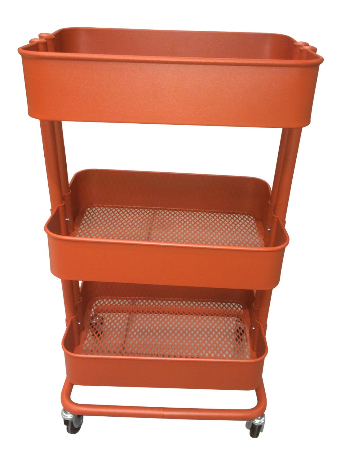 Amazon.com: RASKOG 1419 503 317 62 Home Kitchen Storage Utility Cart   Red  Brown: Home U0026 Kitchen