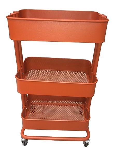 RASKOG Home Kitchen Bedroom Storage Utility Cart Red , Automotive, tool & industrial , Office