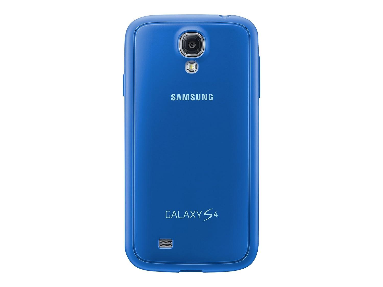 Samsung Protective Cover Plus - Funda para móvil Galaxy S4 (Revestimiento de goma), azul- Versión Extranjera