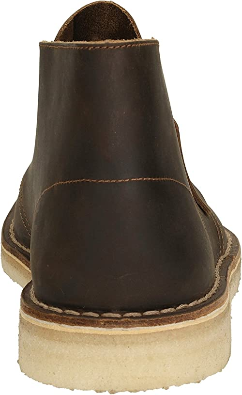 Clarks Desert Boot, Stivali da Uomo, Giallo (Beeswax), 42
