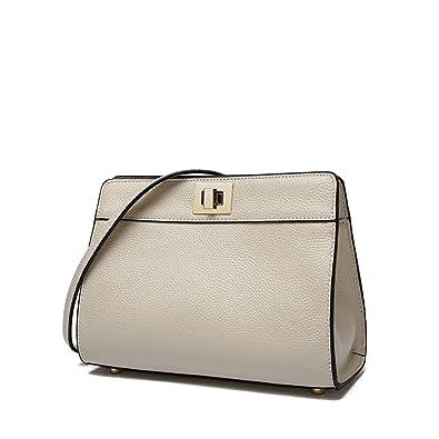 Gome-z Messenger Bags Leather Shoulder Crossbody Bag Carteras Mujer De Hombro Beige 245x190x90mm