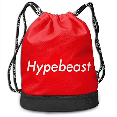 d15d4c5e36ee Amazon.com: Hypebeast Drawstring Bag Rucksack Shoulder Bags Travel ...