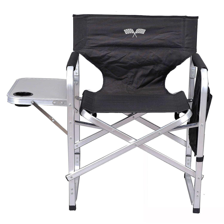Stylish Camping Full Back Folding Directors Chair